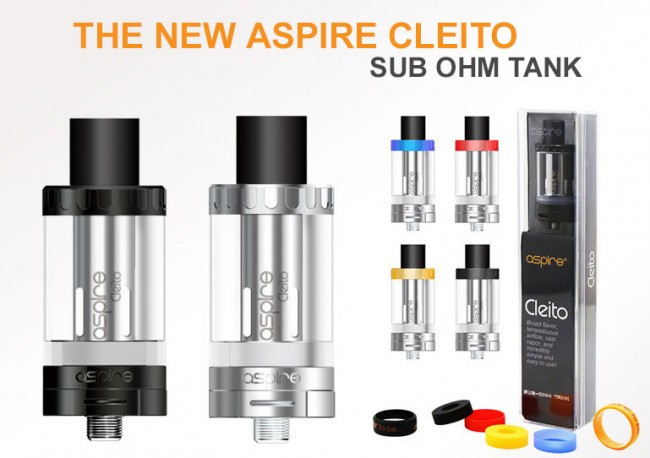 Aspire Cleito Tank - 3.5ml